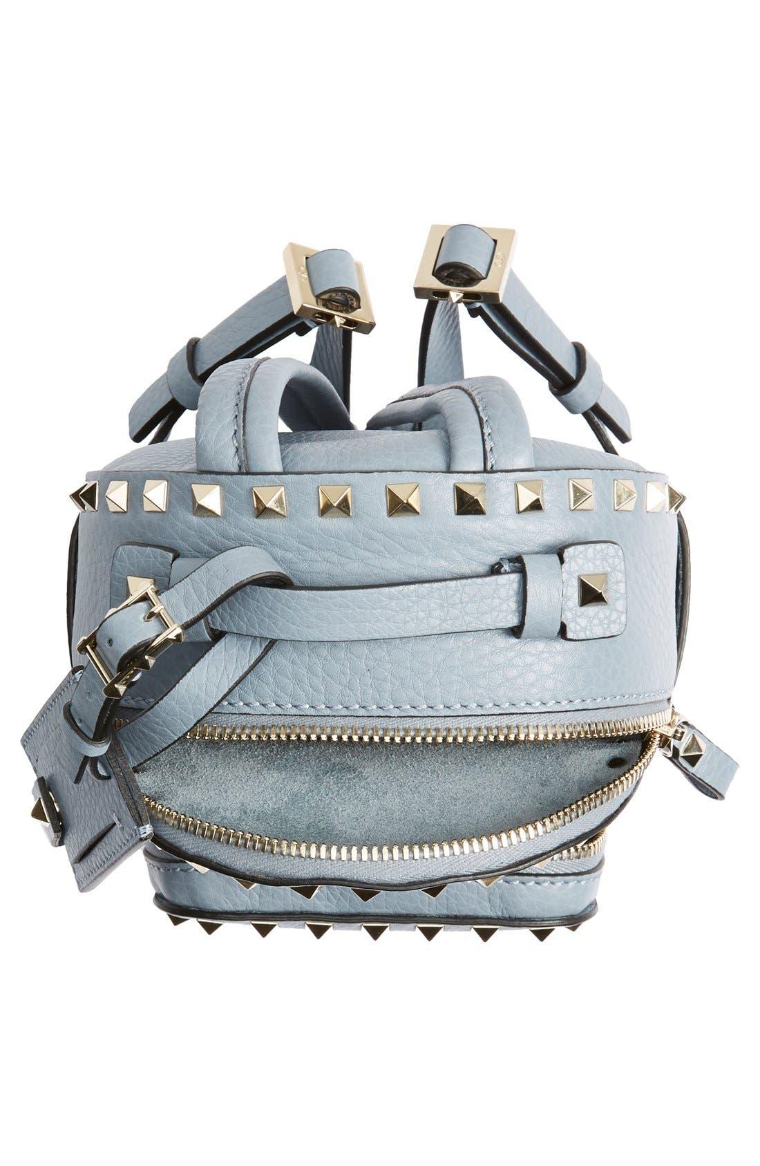 Alternate Image 5  - Valentino 'Small Rockstud' Leather Backpack