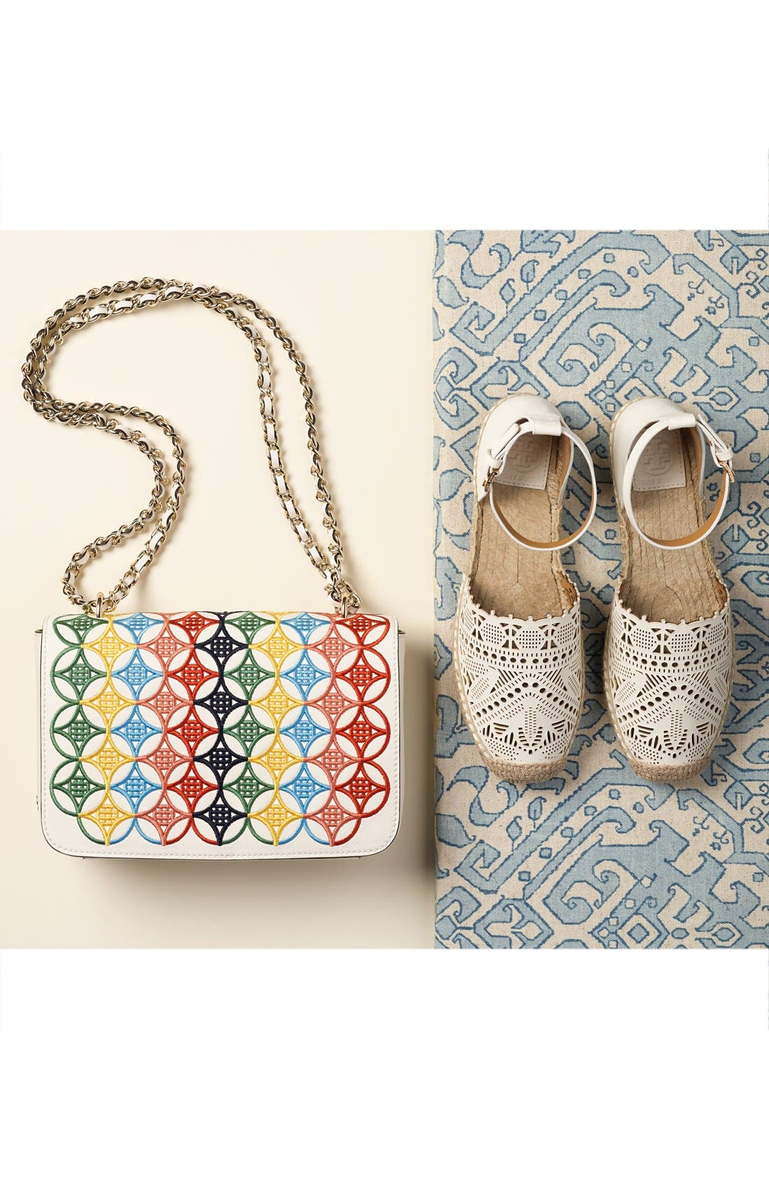 Alternate Image 7  - Tory Burch 'Robinson' Embroidered Shoulder Bag