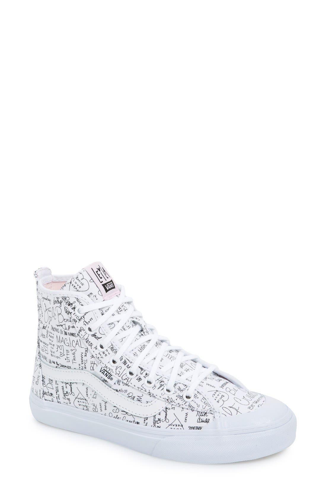 Alternate Image 1 Selected - Vans 'Dazie-Hi' Sneaker (Women)
