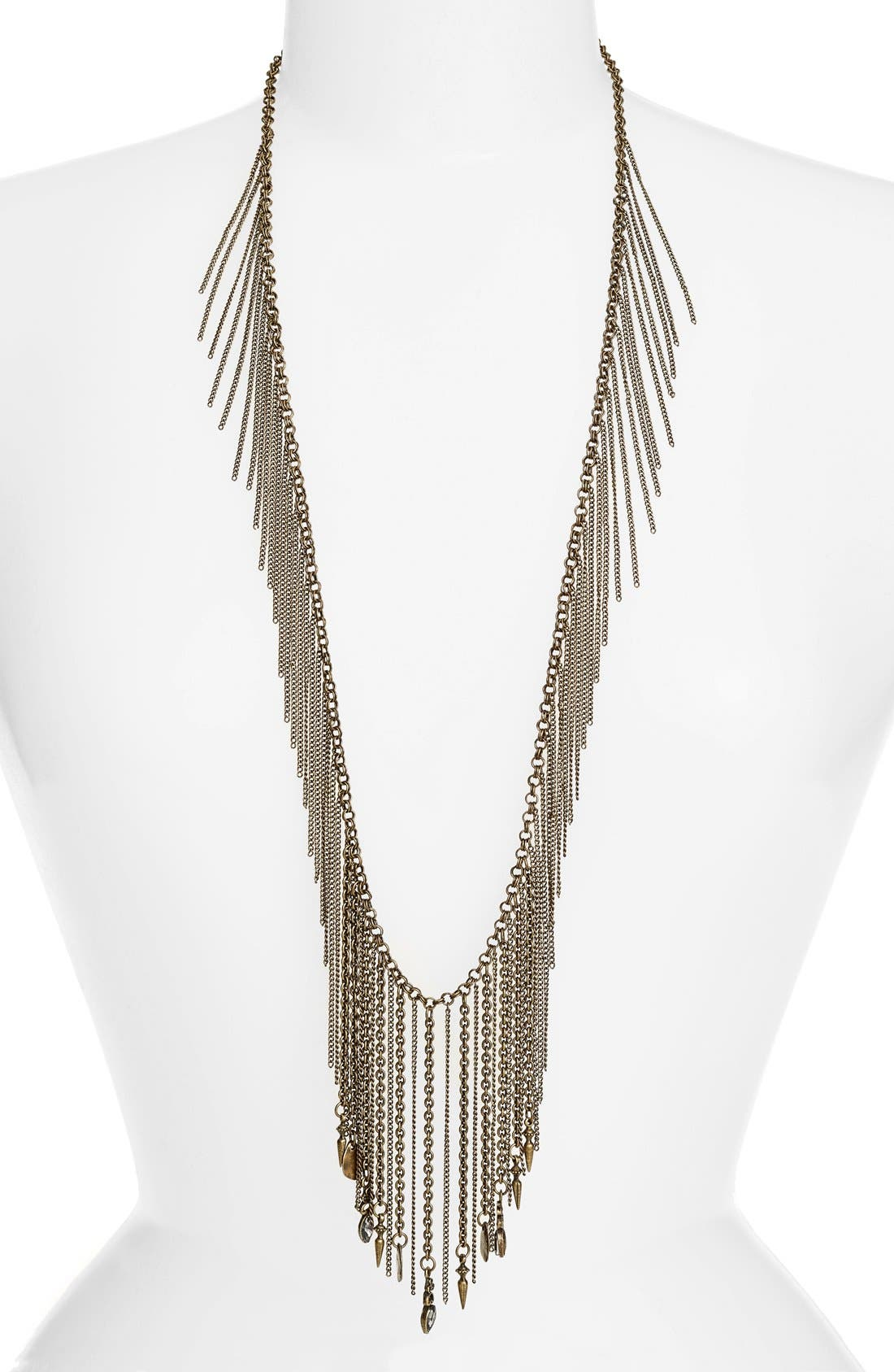 ETTIKA Fringe Tassel Statement Necklace