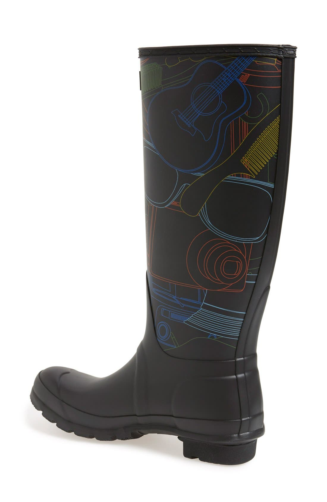 Alternate Image 2  - Hunter 'Original Tall - Festival Print' Rain Boot (Women)