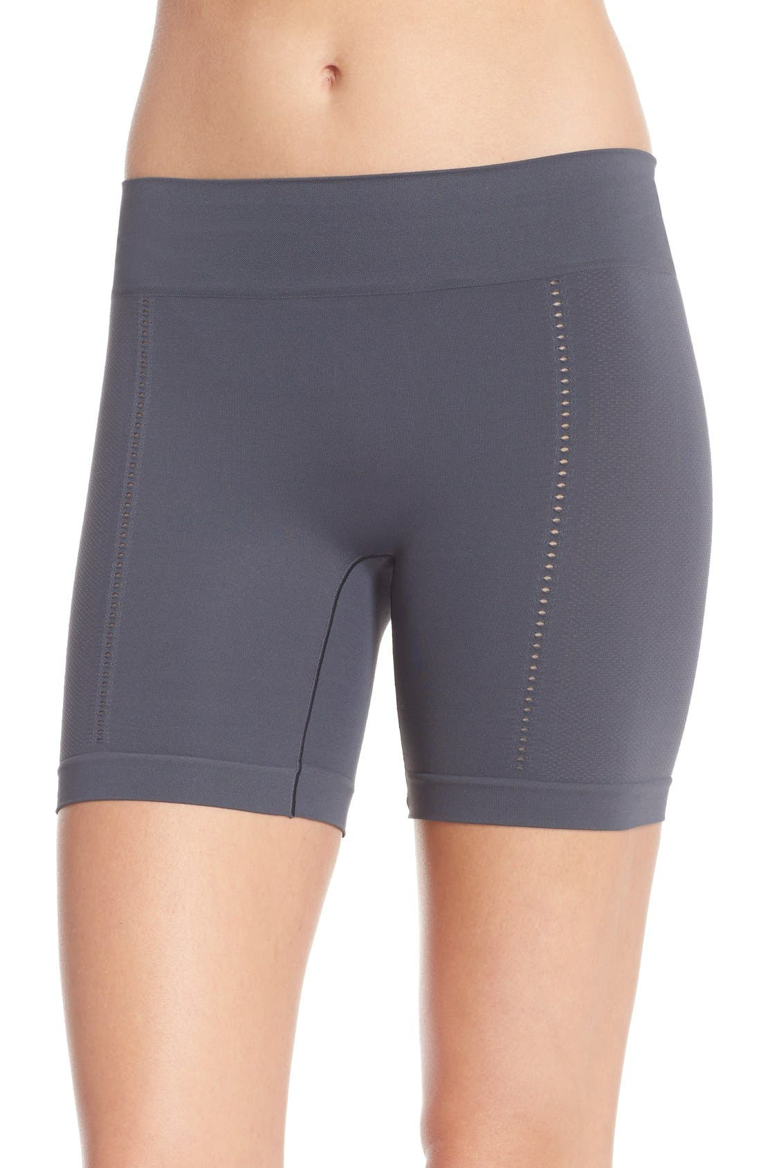 SPANX® Lounge-Hooray! Mid-Thigh Shorts