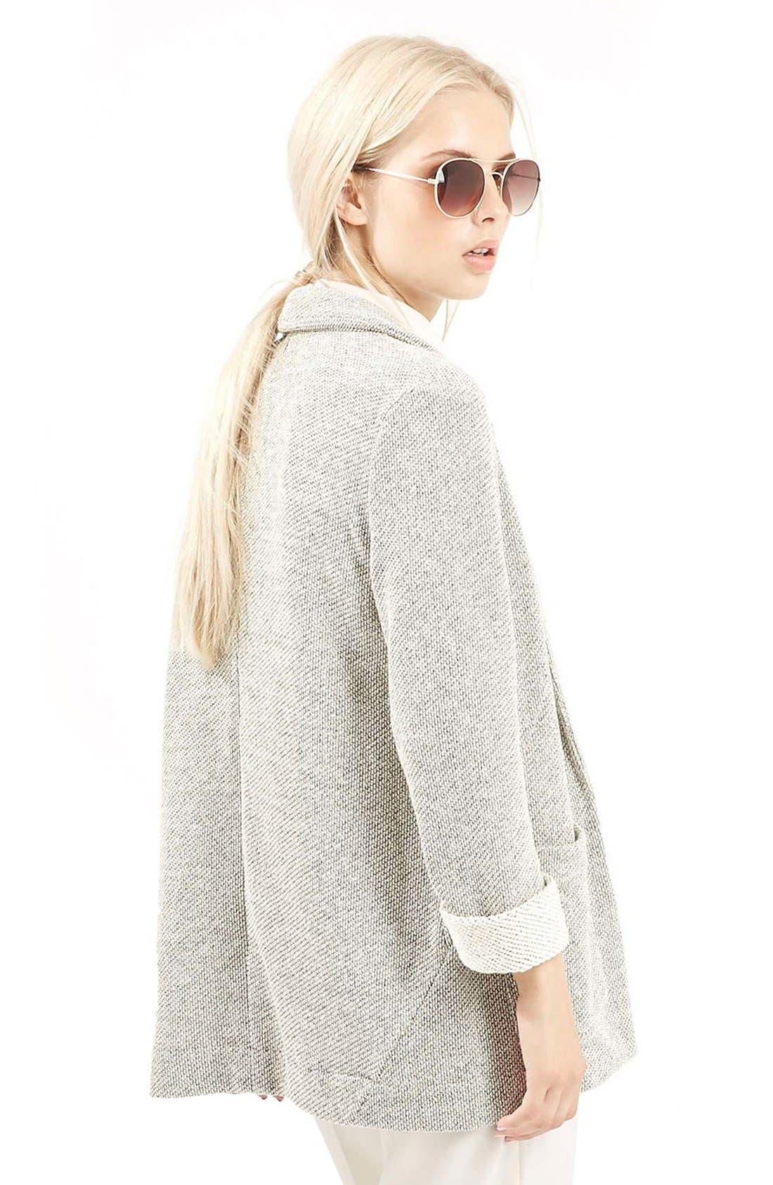 Alternate Image 3  - Topshop Knit Boyfriend Jacket