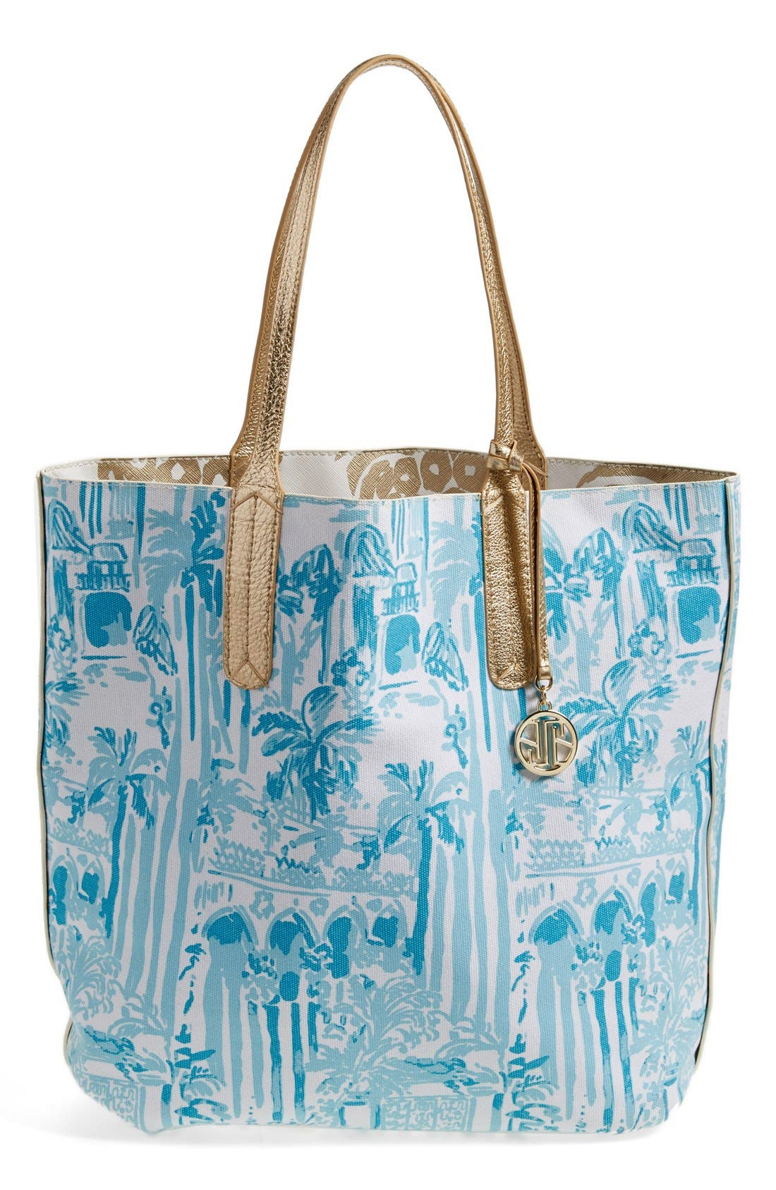 Alternate Image 1 Selected - Lily Pulitzer® Reversible Shopper Tote