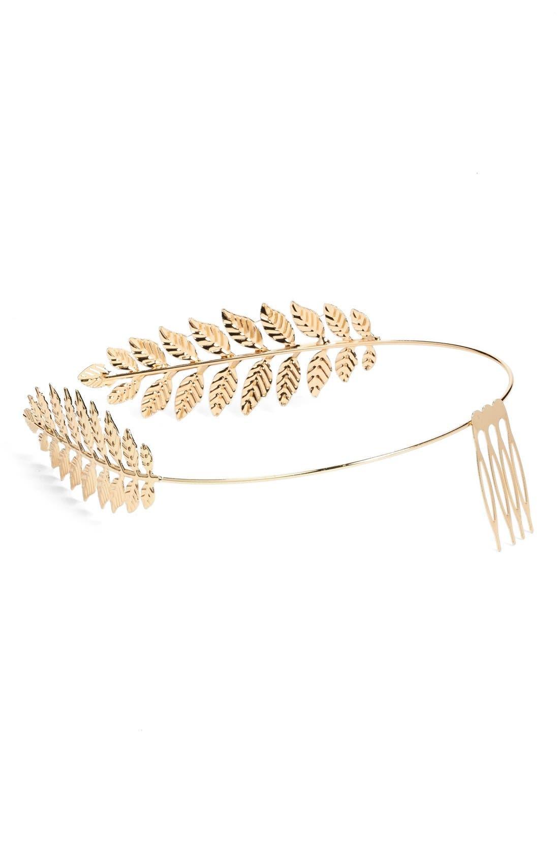 Alternate Image 2  - Cara Leaf Headband
