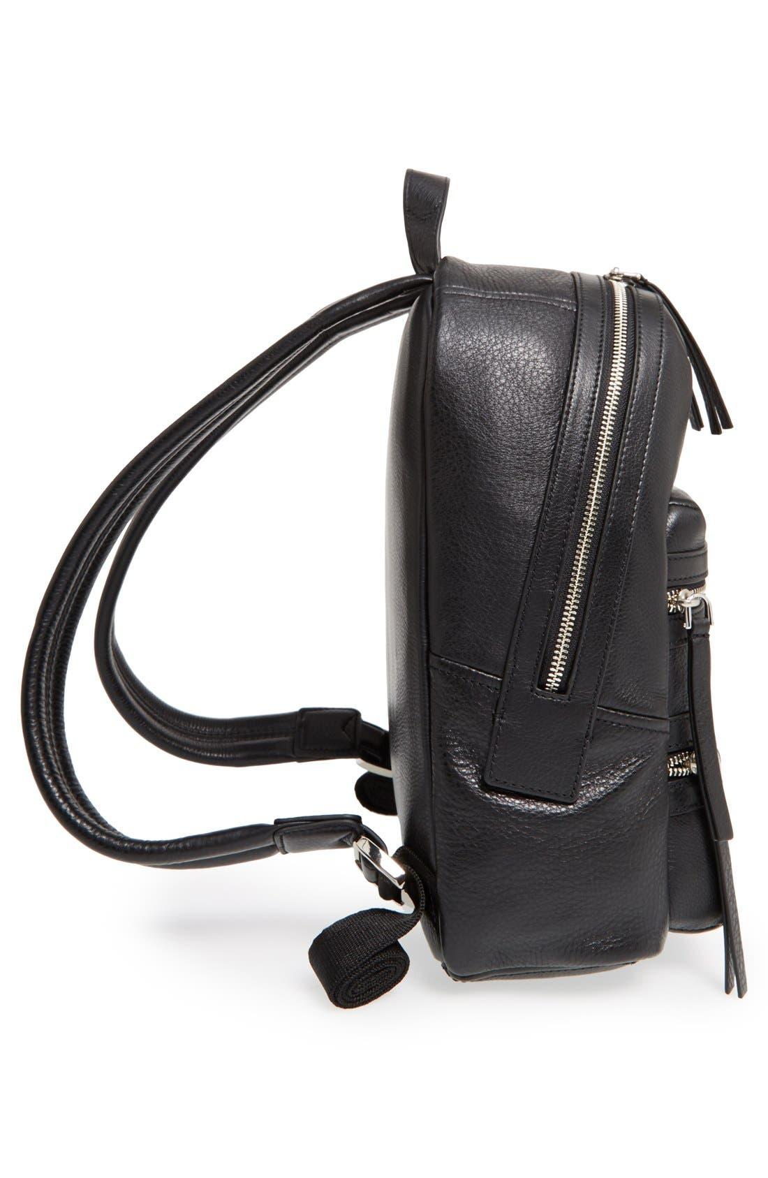 Alternate Image 5  - MARC JACOBS 'Biker' Leather Backpack