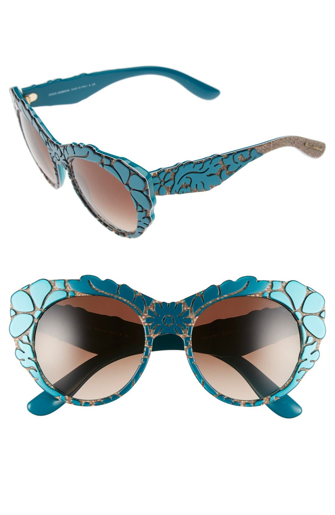 Alternate Image 1 Selected - Dolce&Gabbana 53mm Sunglasses