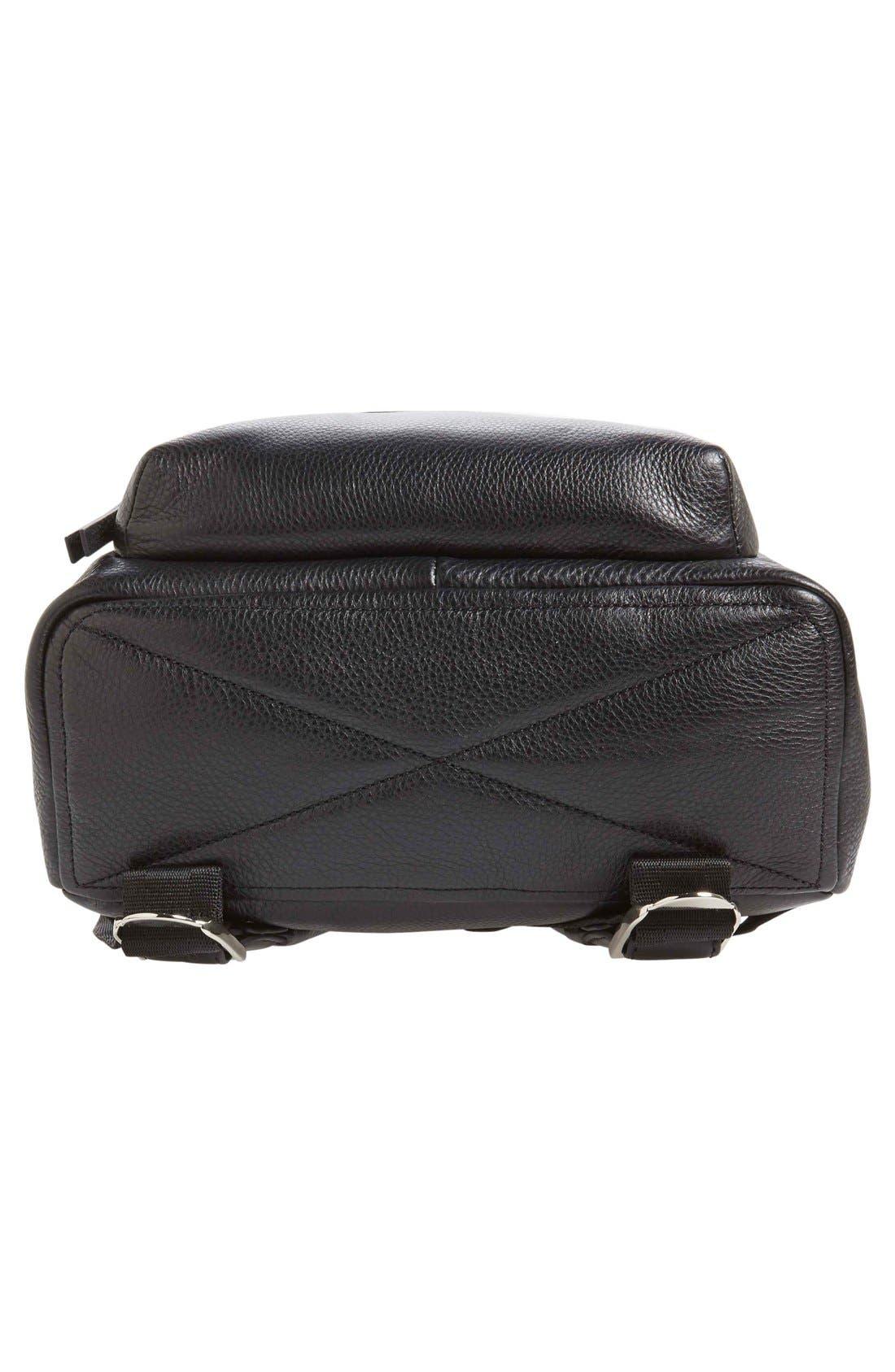 Alternate Image 6  - MARC JACOBS Large Biker Leather Backpack
