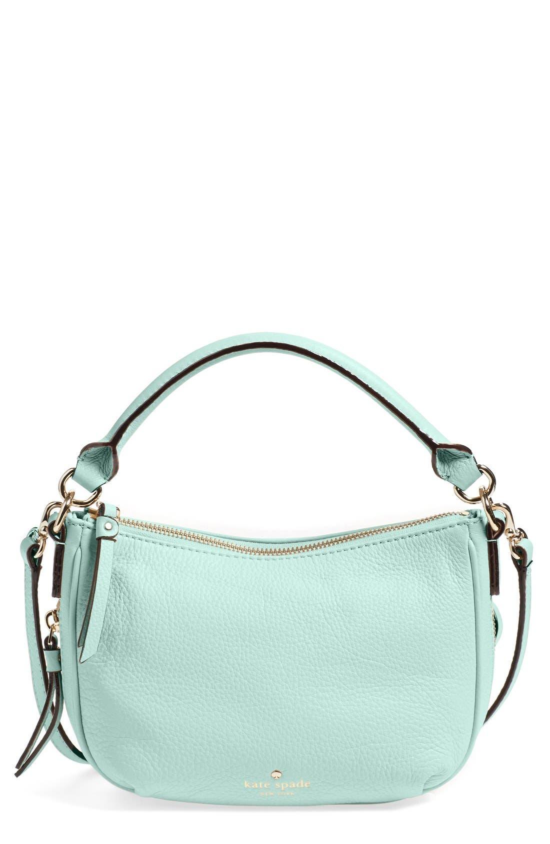 Alternate Image 1 Selected - kate spade new york 'cobble hill - mini ella' leather crossbody bag