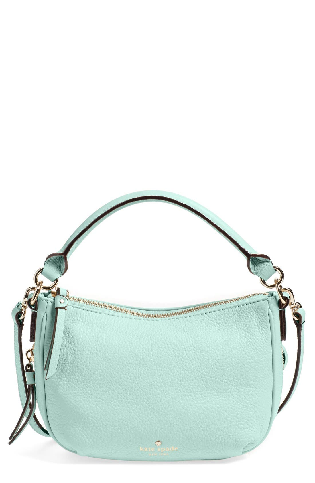 Main Image - kate spade new york 'cobble hill - mini ella' leather crossbody bag
