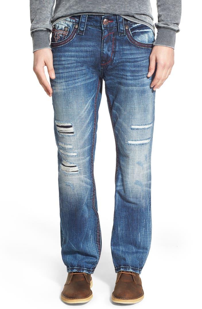 Rock Revival u0026#39;Feeneyu0026#39; Alternative Straight Leg Jeans | Nordstrom
