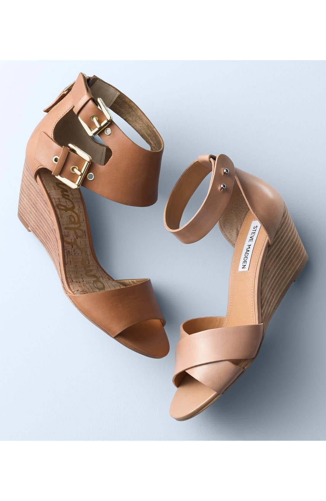 Alternate Image 5  - Steve Madden 'Nilla' Wedge Sandal (Women)