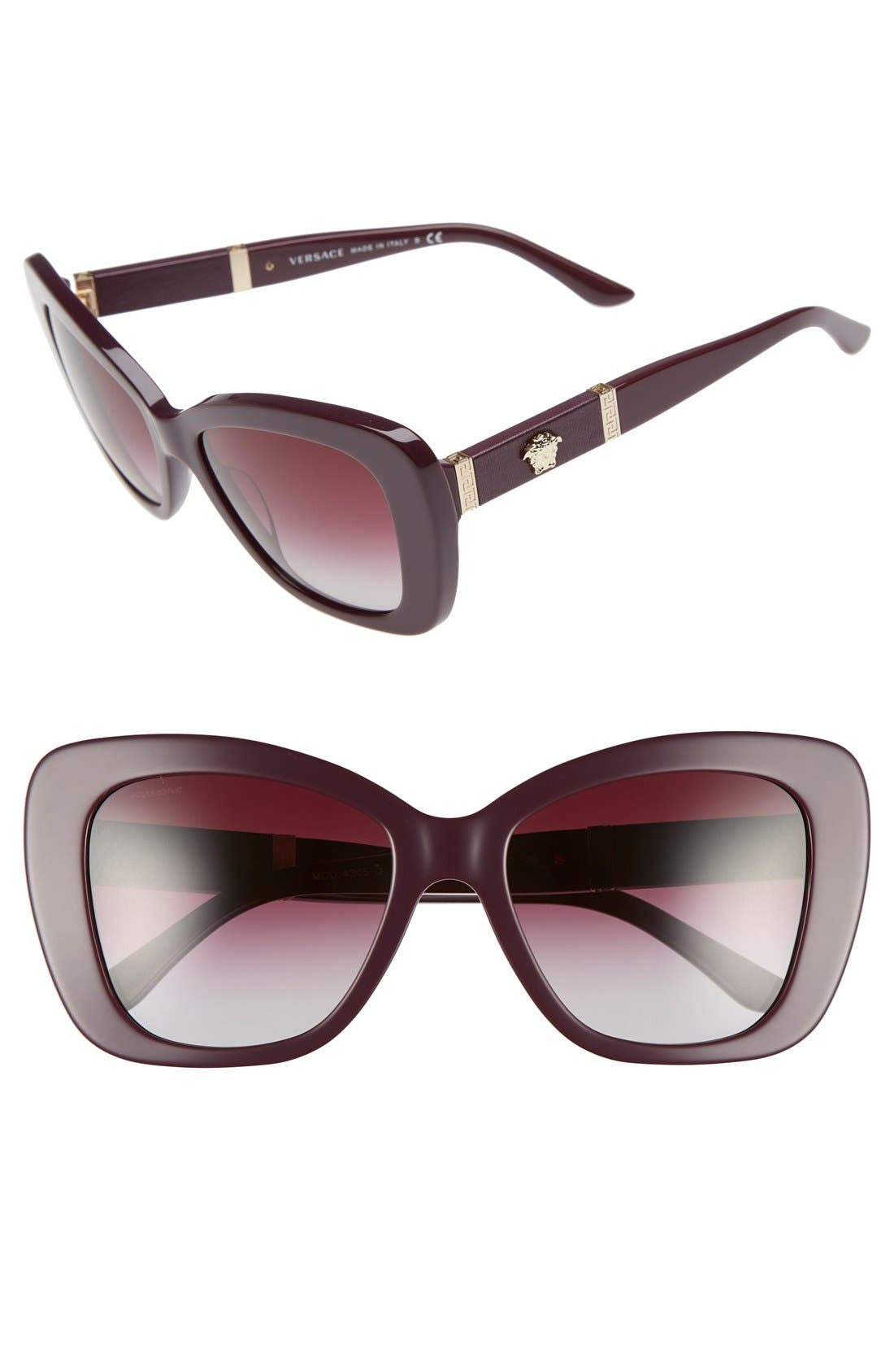 Main Image - Versace 54mm Retro Sunglasses