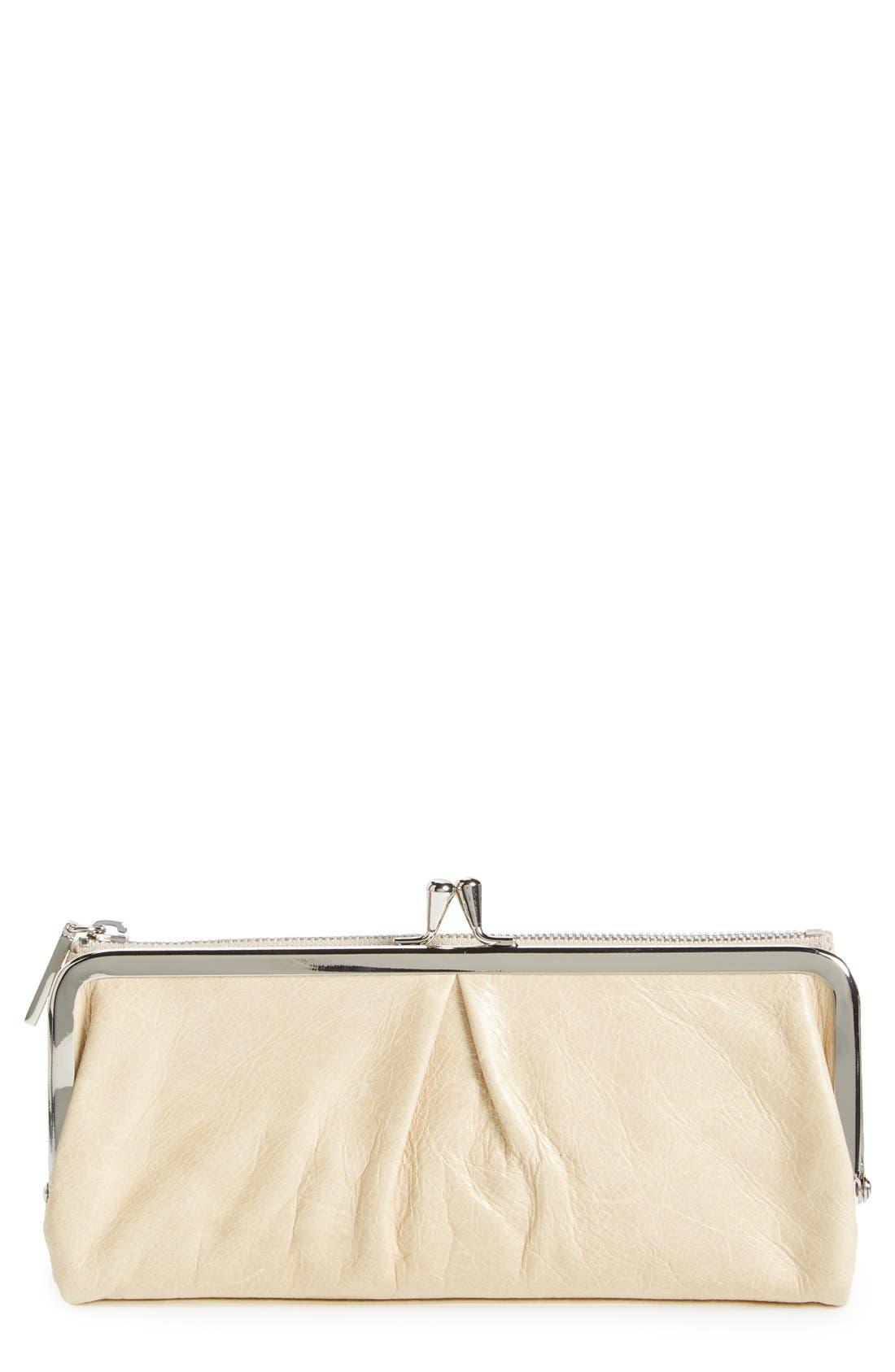 Alternate Image 1 Selected - Hobo 'Vera' Frame Clutch Wallet