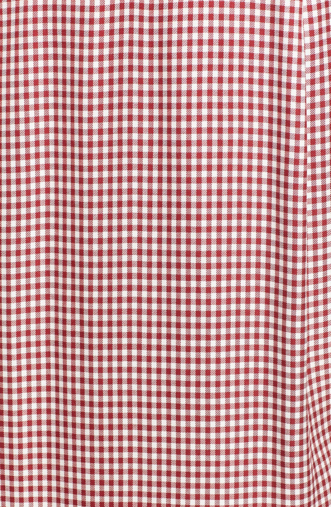 Alternate Image 5  - Madewell 'Filmscore' Gingham Check Shirt-Sleeve Dress