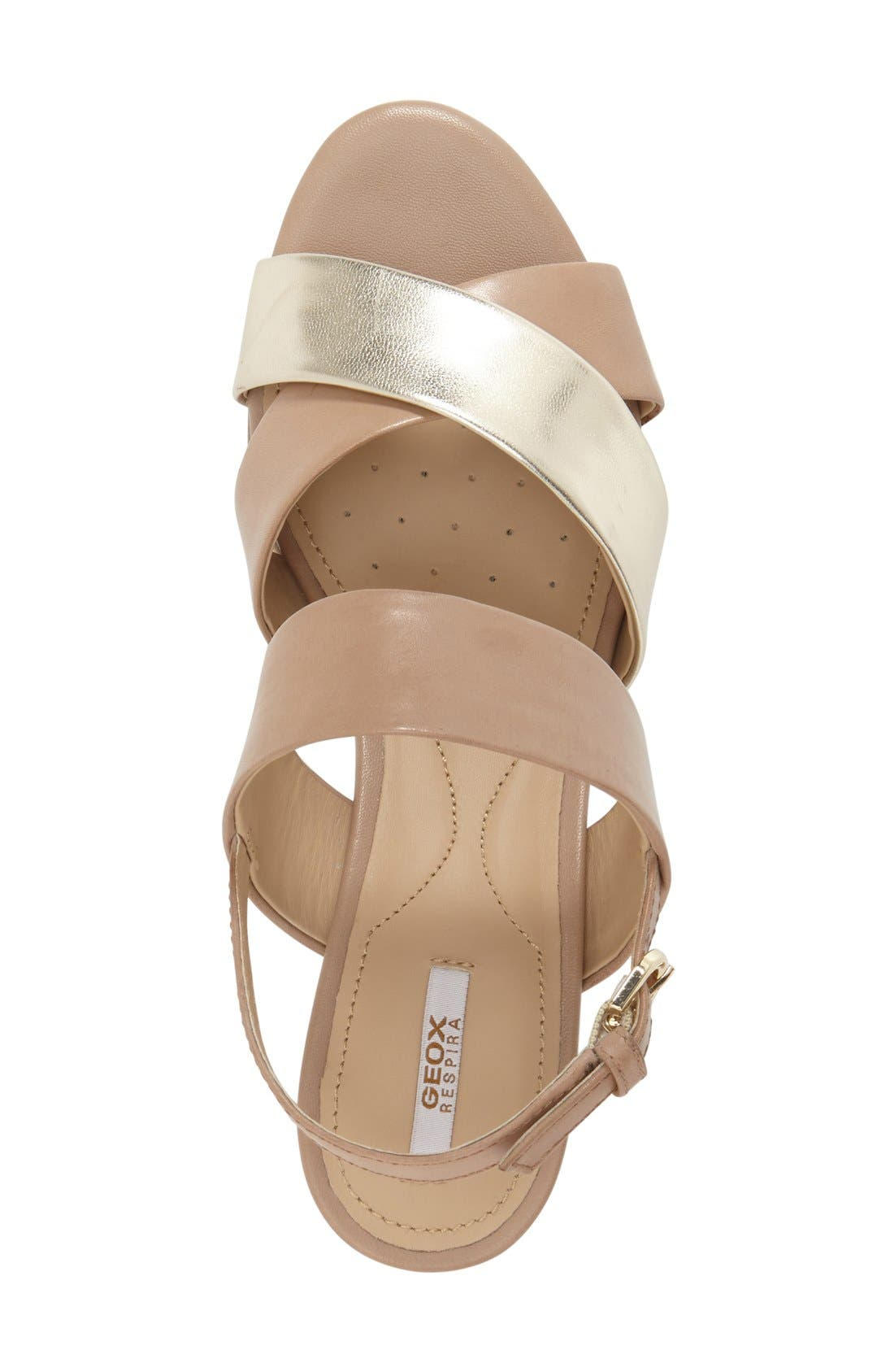 Alternate Image 3  - Geox 'Thelma' Platform Wedge Sandal (Women)
