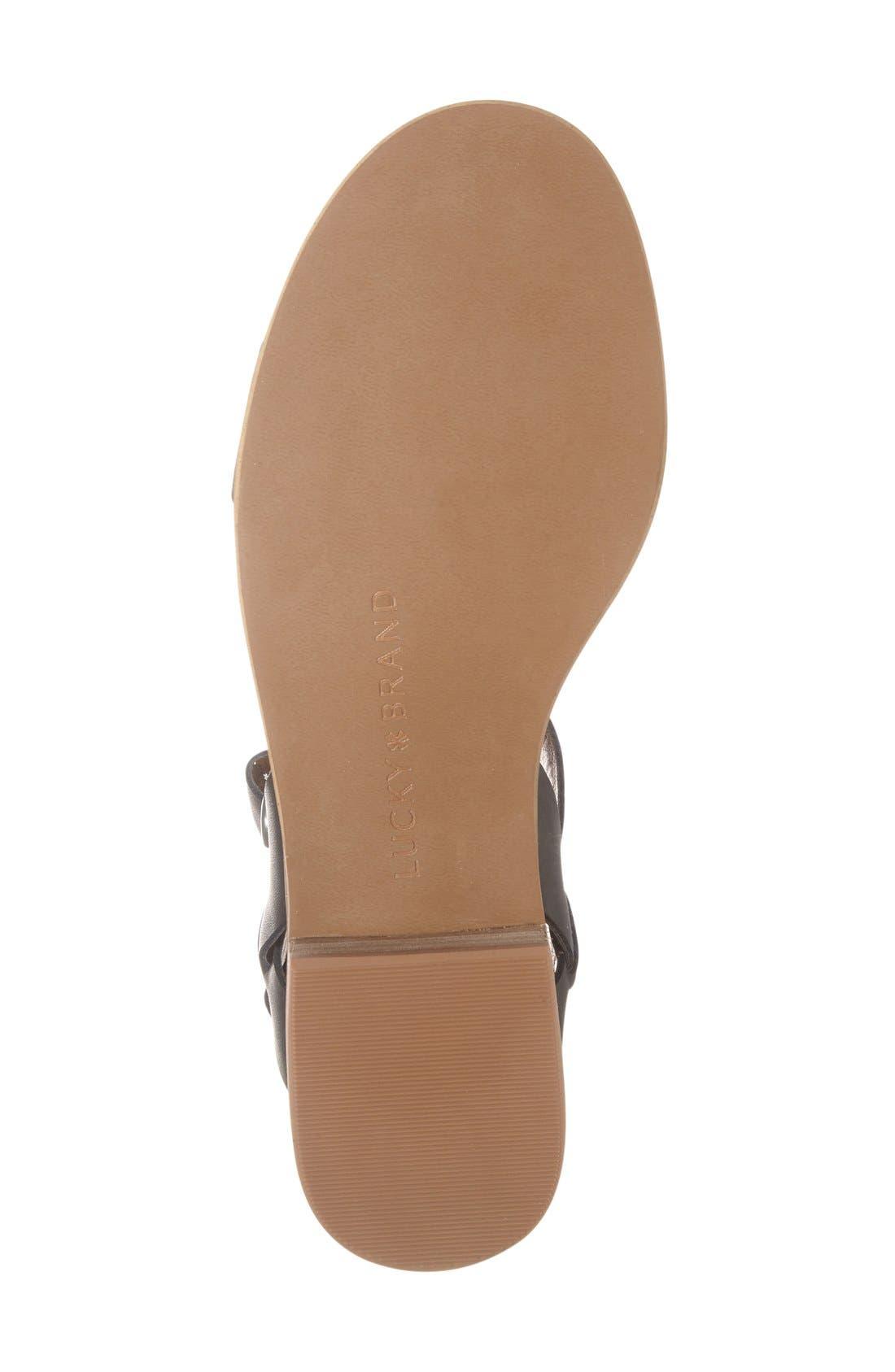Alternate Image 4  - Lucky Brand 'Toni' Stacked Heel Sandal (Women)