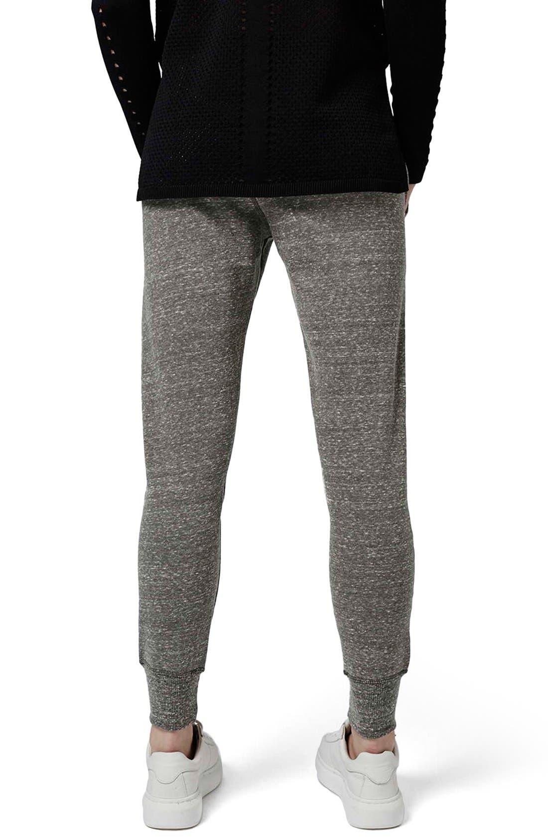 Alternate Image 2  - Topshop 'Jenner' Badge Jogger Pants
