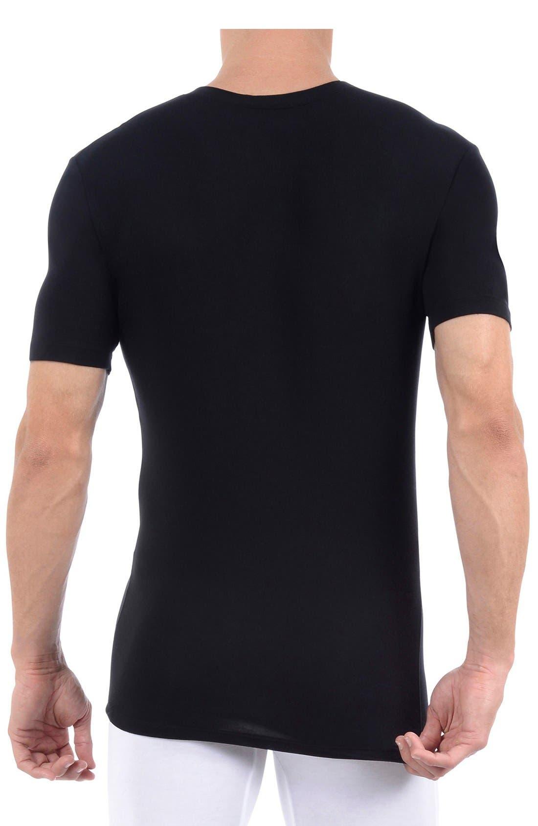 Alternate Image 2  - Tommy John 'Cool Cotton' High V-Neck Undershirt
