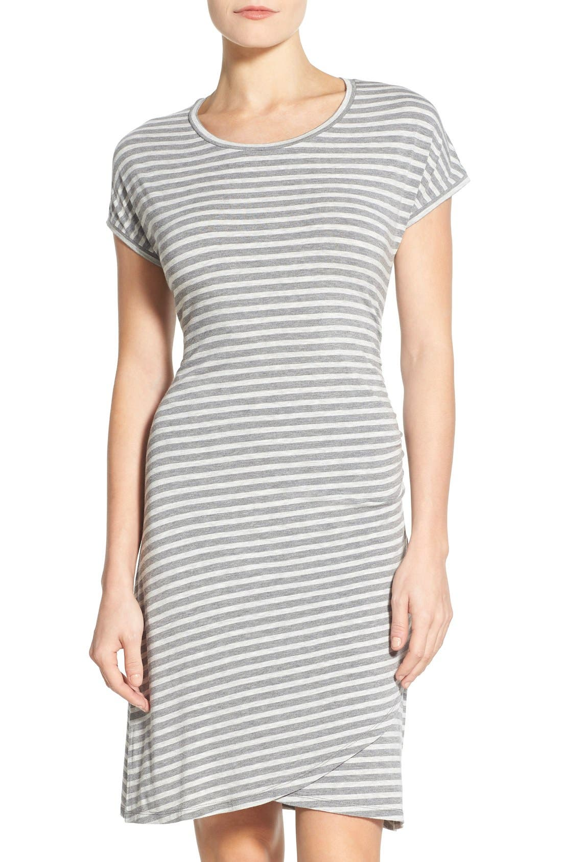 Main Image - Caslon® 'Growover' Jersey T-Shirt Dress