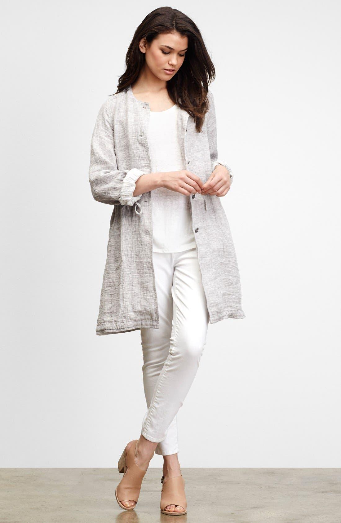 Eileen Fisher Jacket, Tank & Skinny Jeans