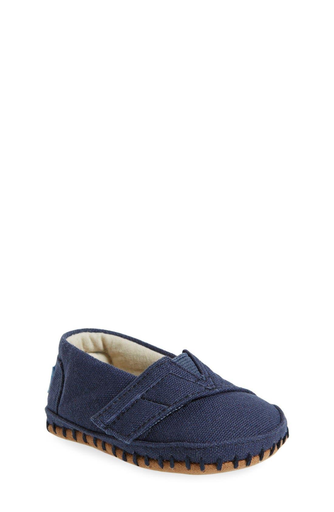 TOMS Alpargata Crib Shoe (Baby)