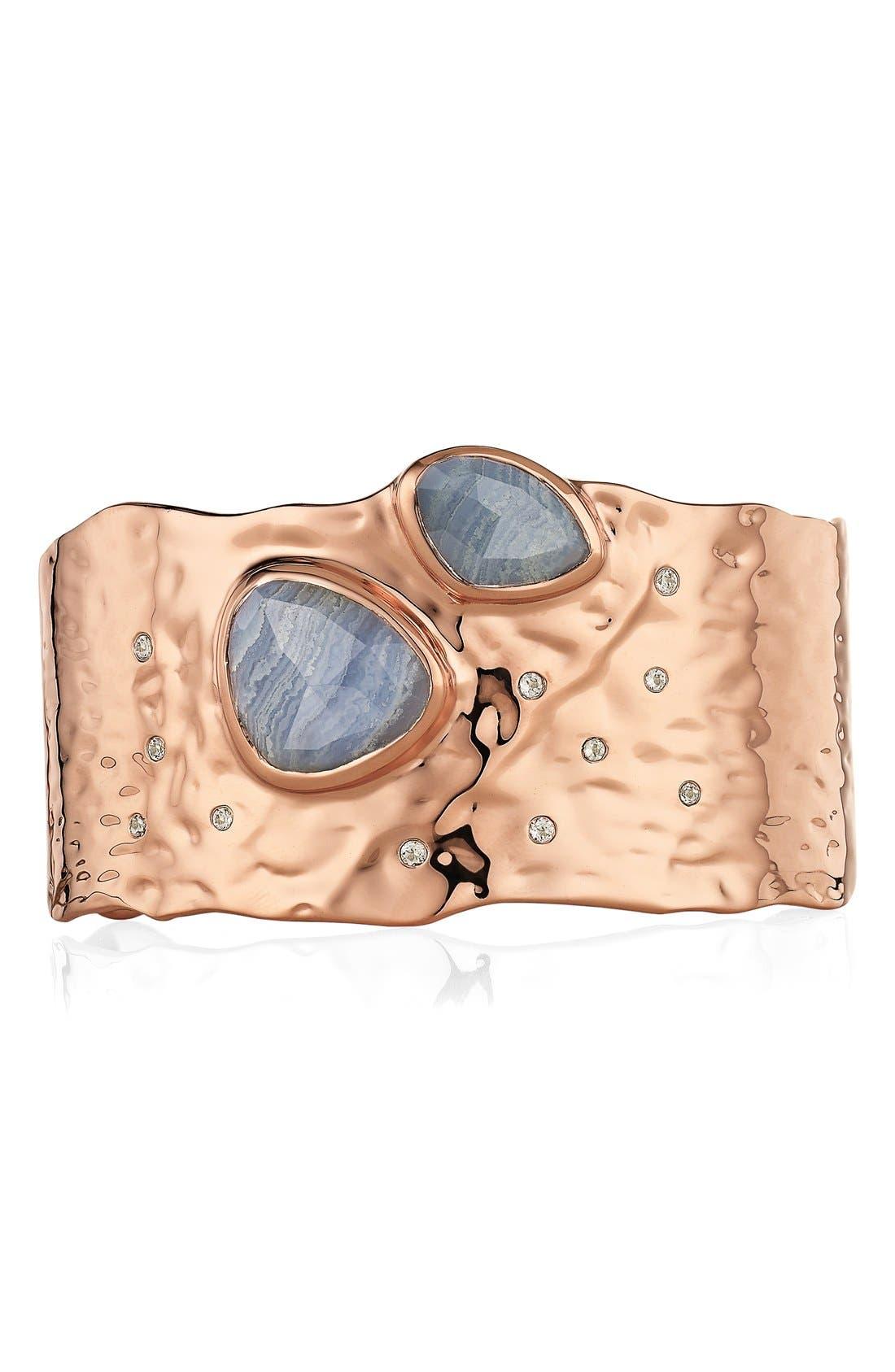 Alternate Image 3  - Monica Vinader 'Siren Odyssey' Semiprecious Stone Cuff