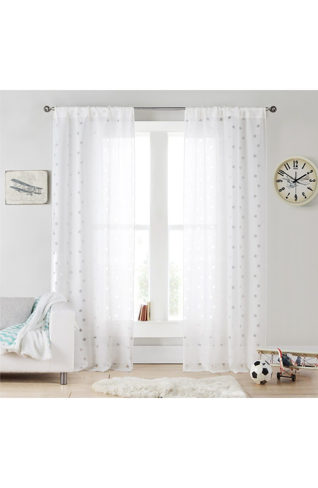 Main Image - LALA + BASH 'Gruden' Sheer Window Panels
