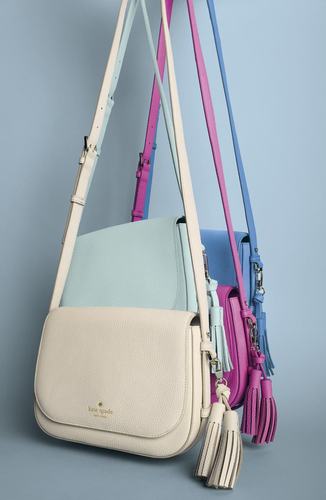 Alternate Image 2  - kate spade new york 'orchard street - penelope' tassel leather crossbody bag