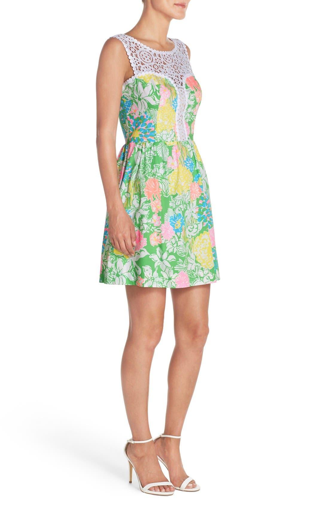 Alternate Image 3  - Lilly Pulitzer® 'Raegan' Cotton Fit & Flare Dress