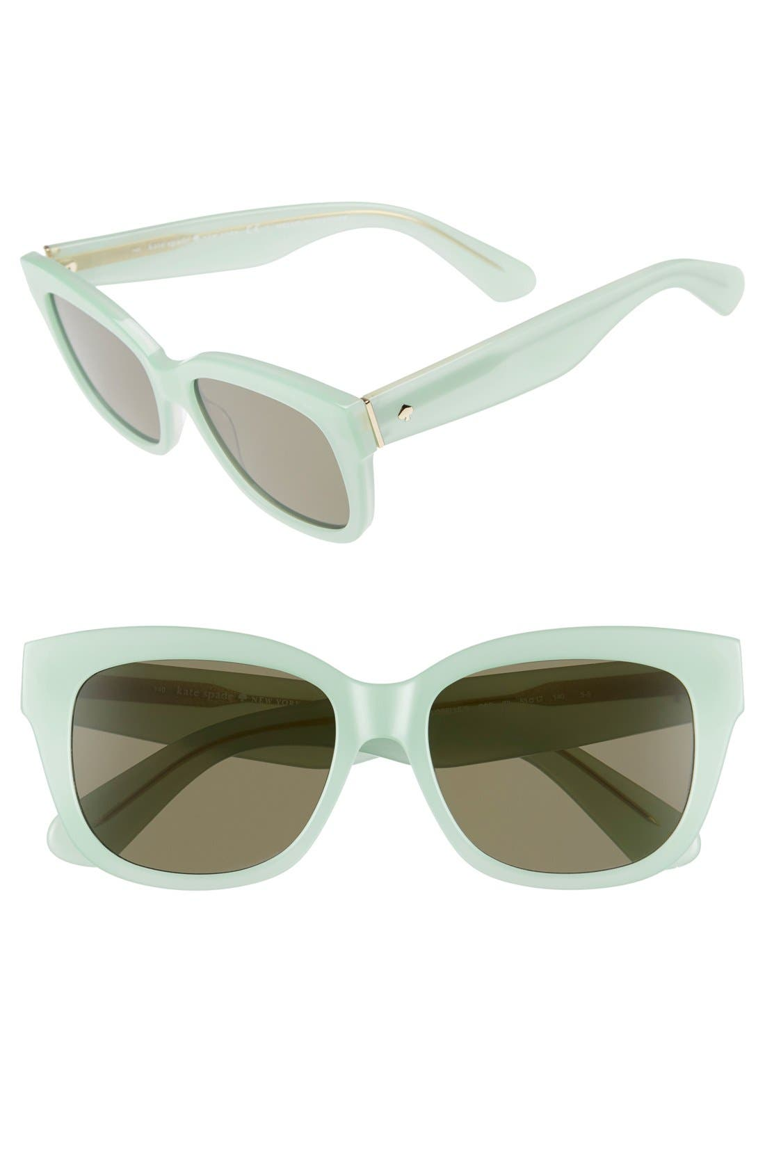 Alternate Image 1 Selected - kate spade new york 'lorelle' 53mm cat eye sunglasses