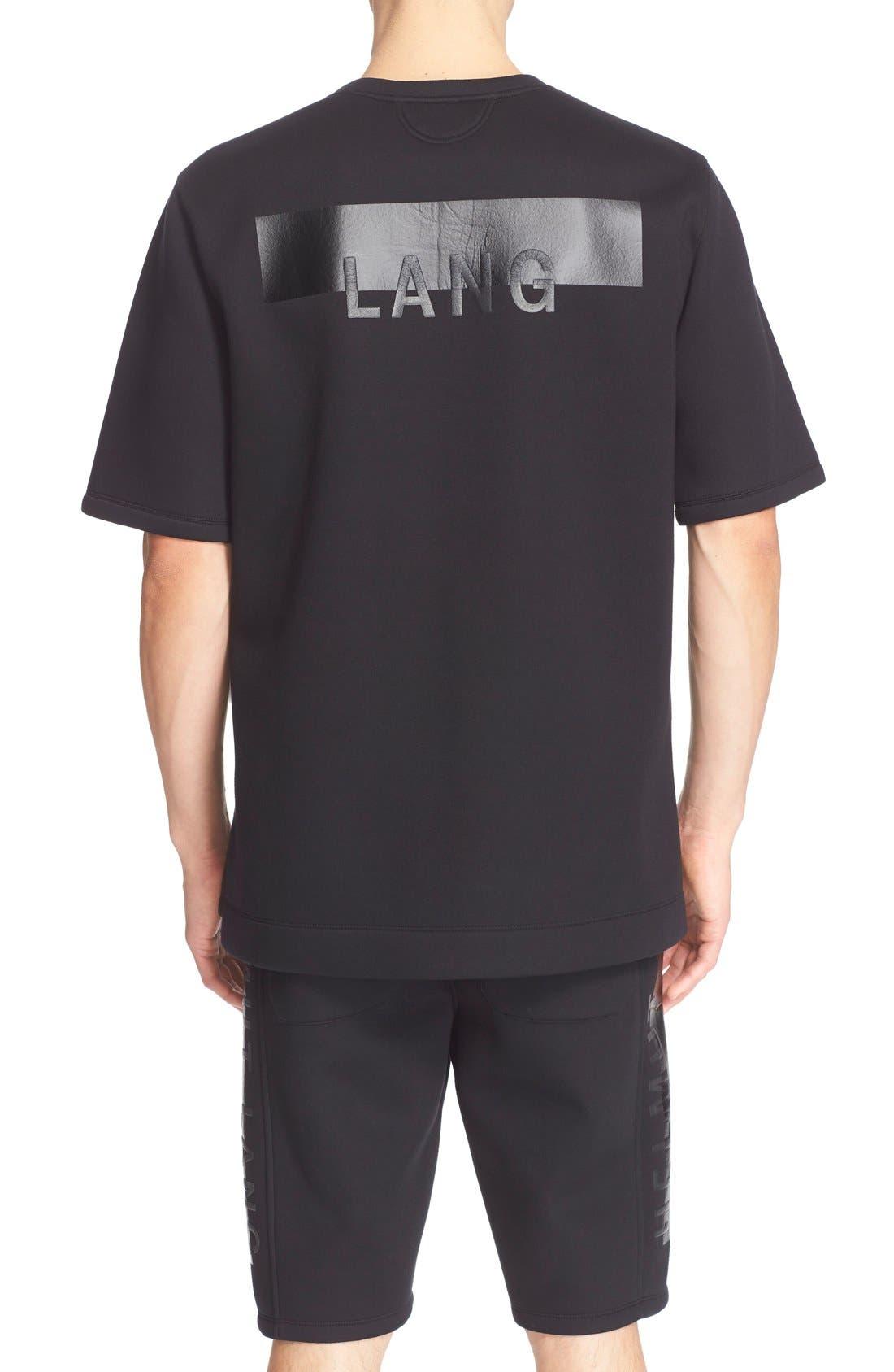Alternate Image 2  - Helmut Lang Oversize Logo T-Shirt