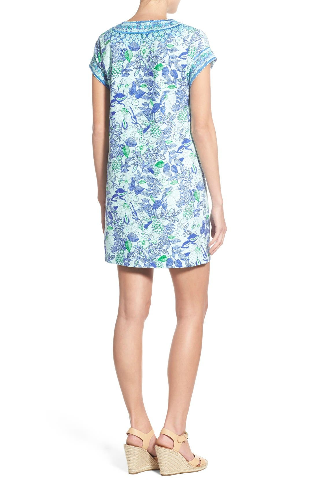 Alternate Image 2  - Vineyard Vines 'Cordia' Floral Print Tunic Dress
