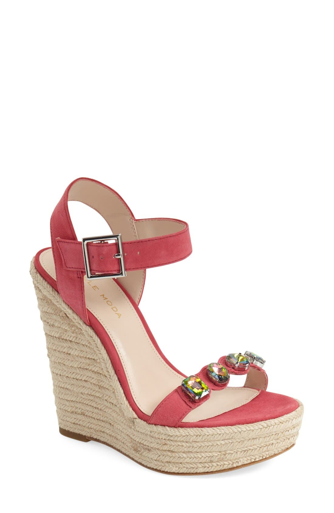 Pelle Moda 'Olea' Wedge Sandal (Women)
