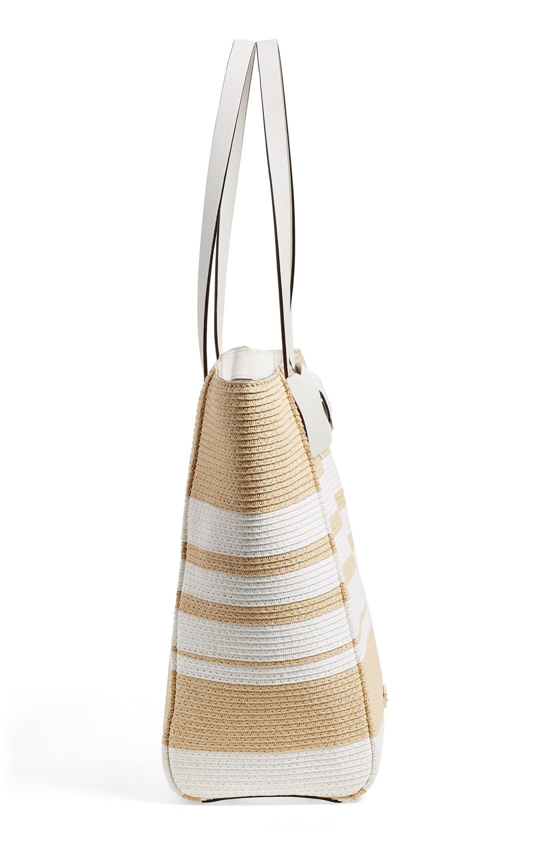 Alternate Image 5  - kate spade new york 'clement street - blair' woven straw tote