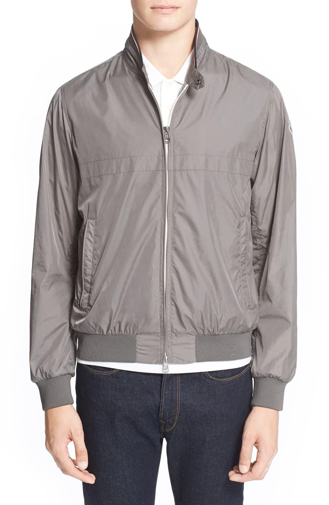 MONCLER 'Albert' Stripe Collar Jacket