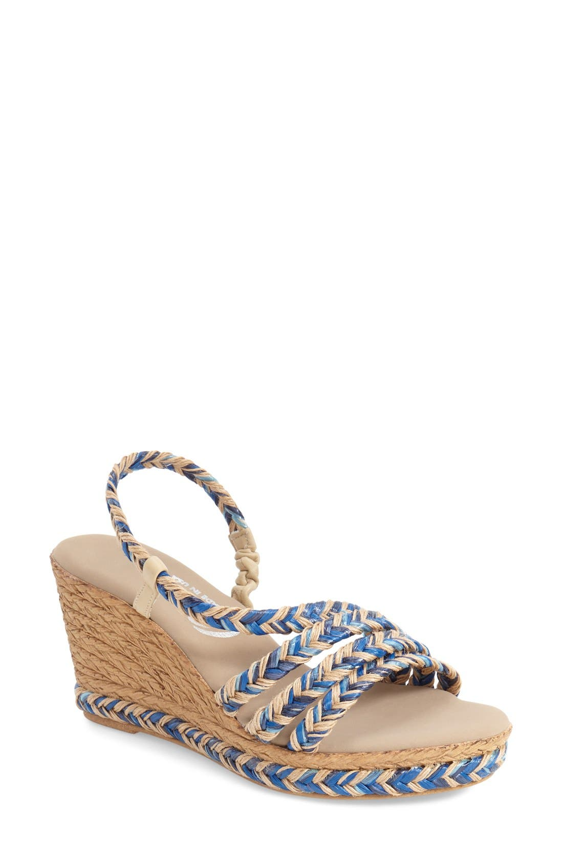Onex 'Marcia' Wedge Sandal (Women)