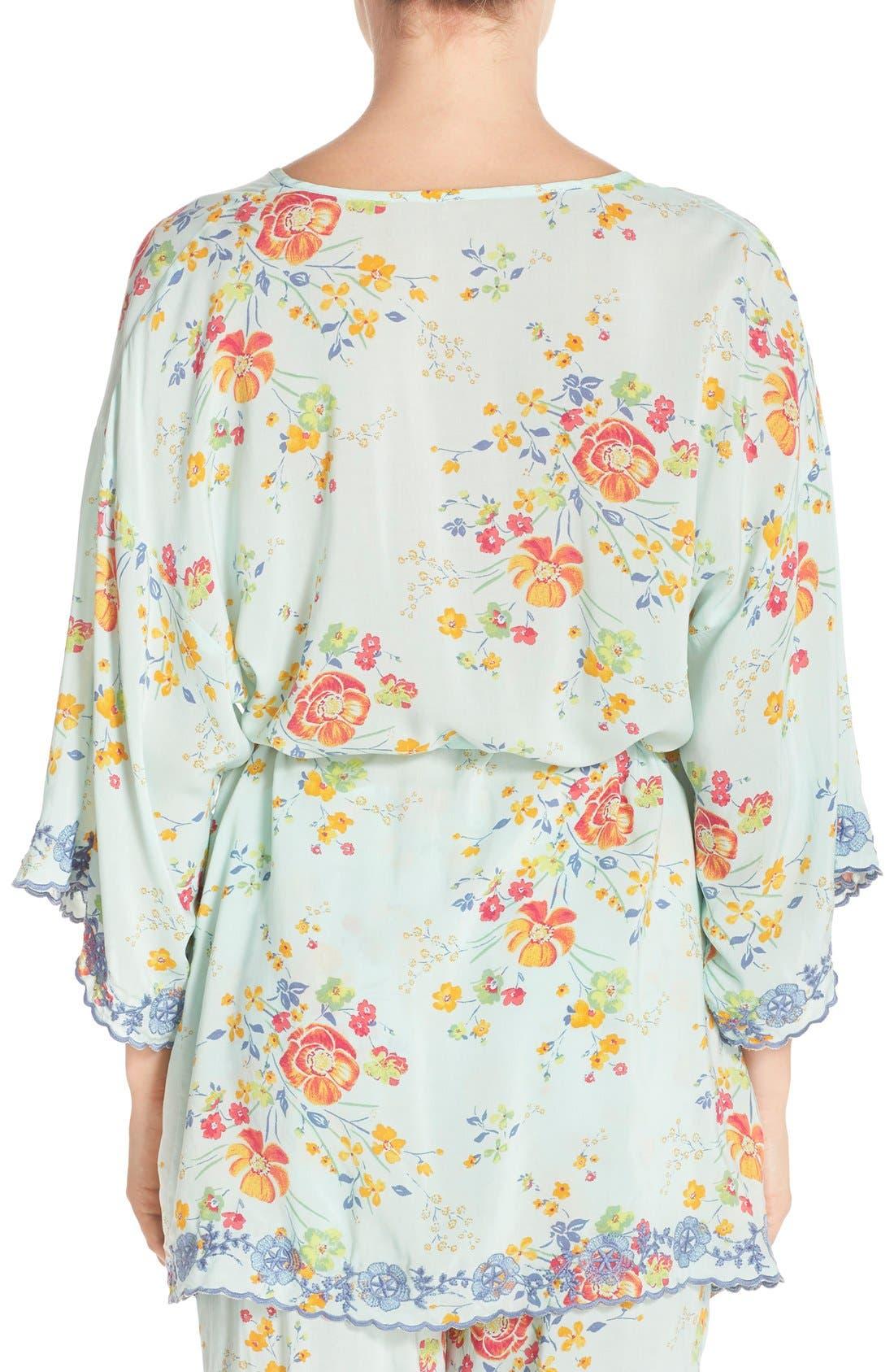 Alternate Image 2  - Make + Model 'Summer Daze' Kimono Robe