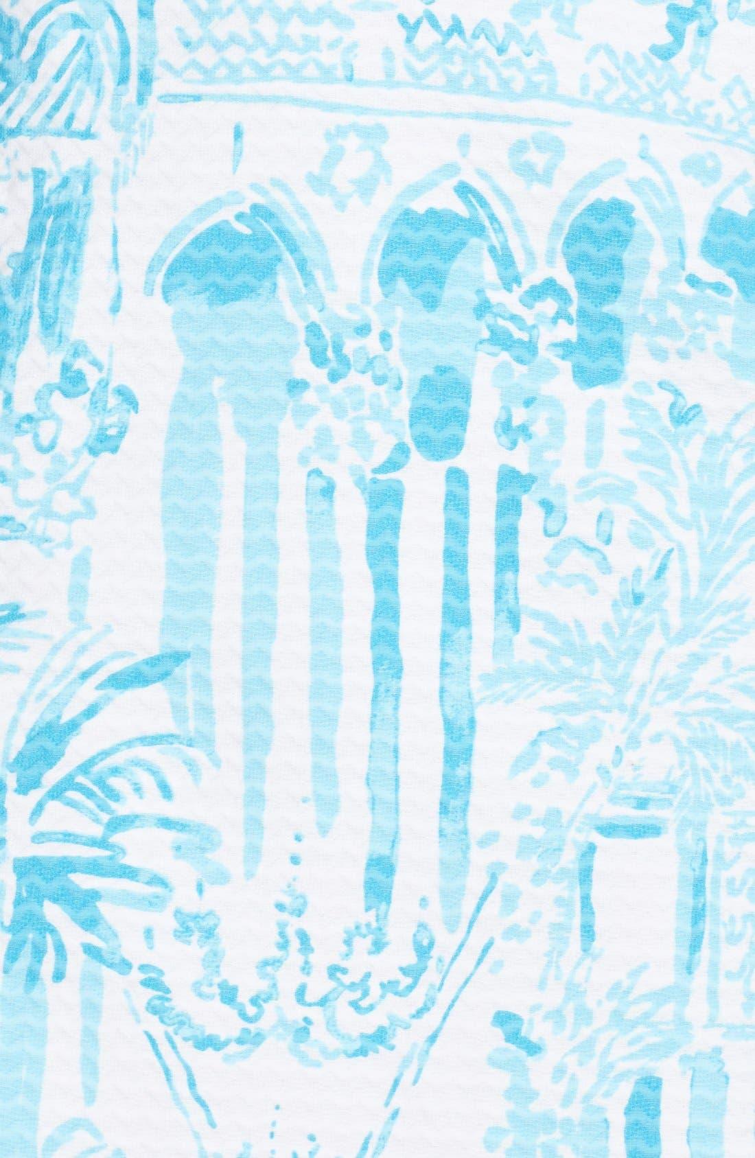 Alternate Image 6  - Lilly Pulitzer® 'Valli' Soutache Print Jacquard Sheath Dress