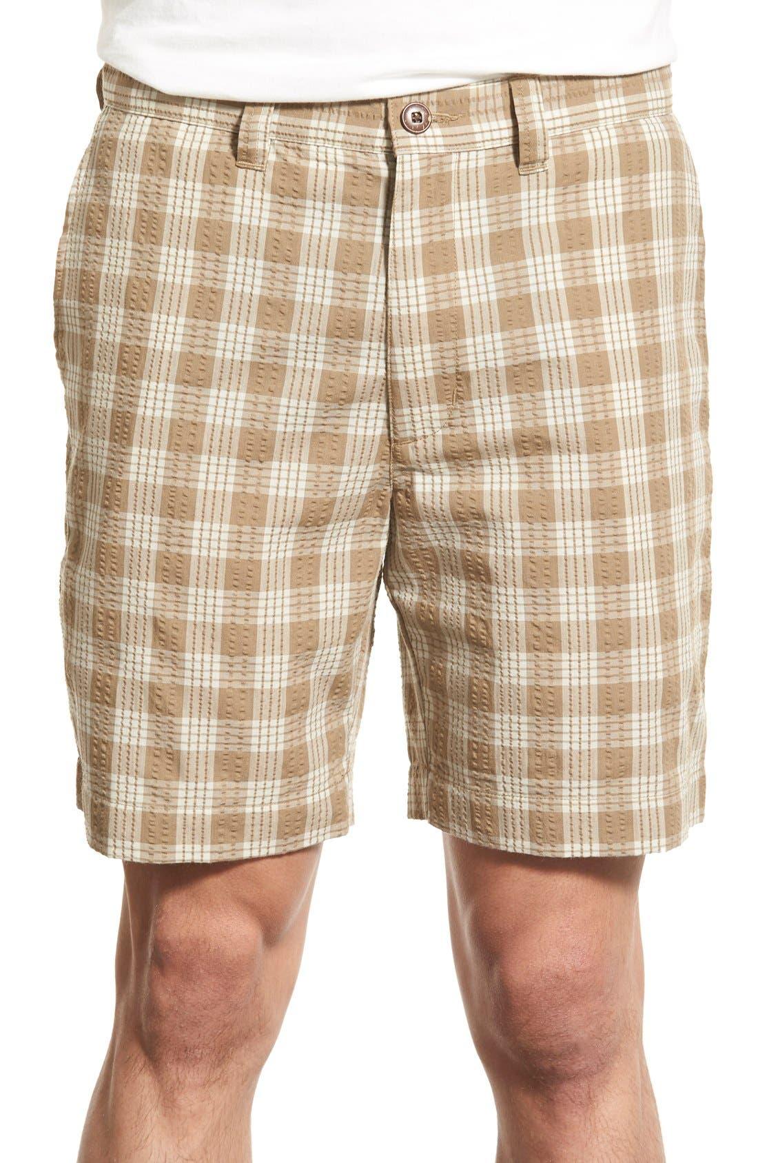 PATAGONIA 'Pucker' Seersucker Shorts