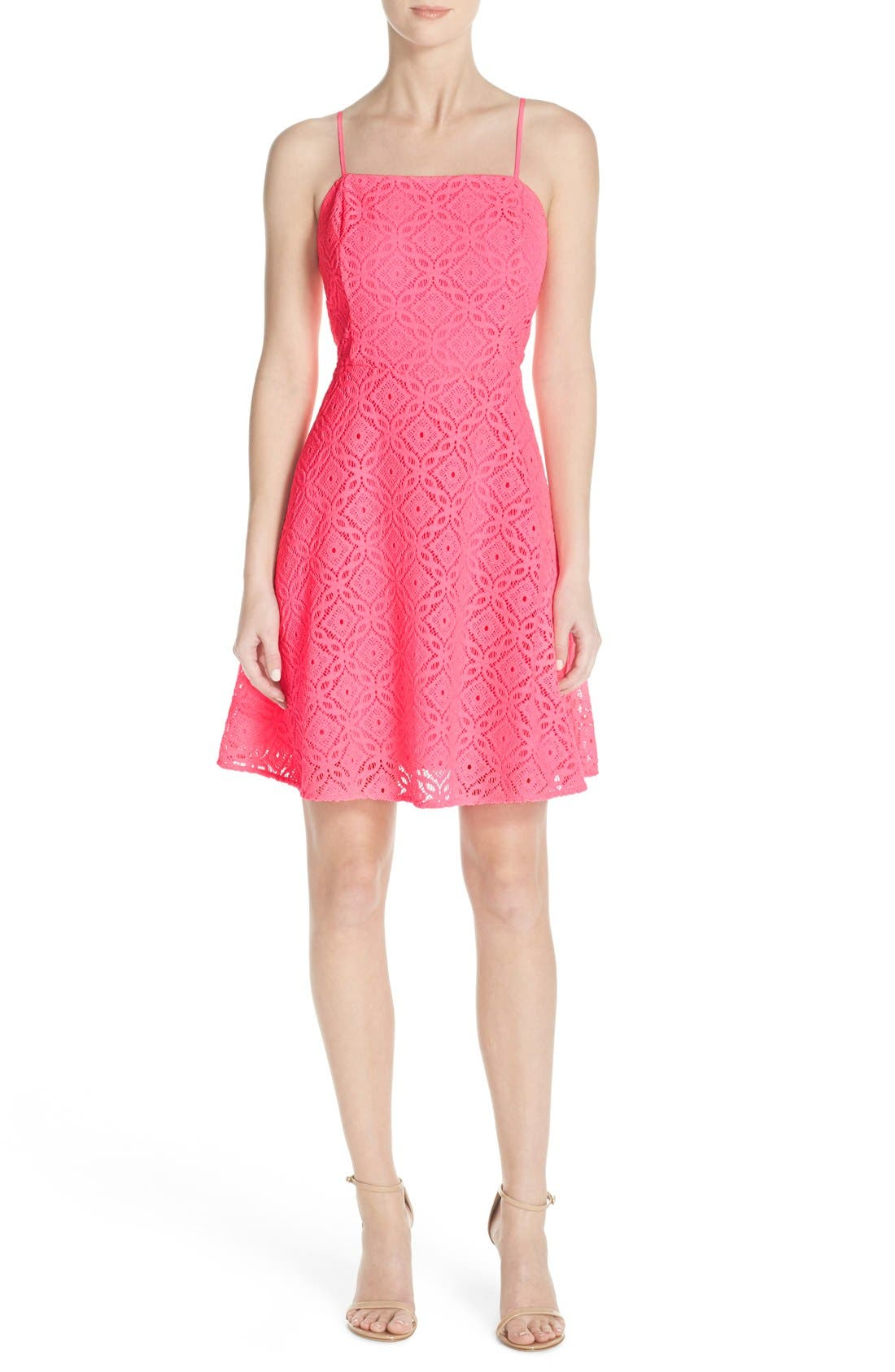 Alternate Image 4  - Lilly Pulitzer® 'Jennilee' Lace Fit & Flare Dress