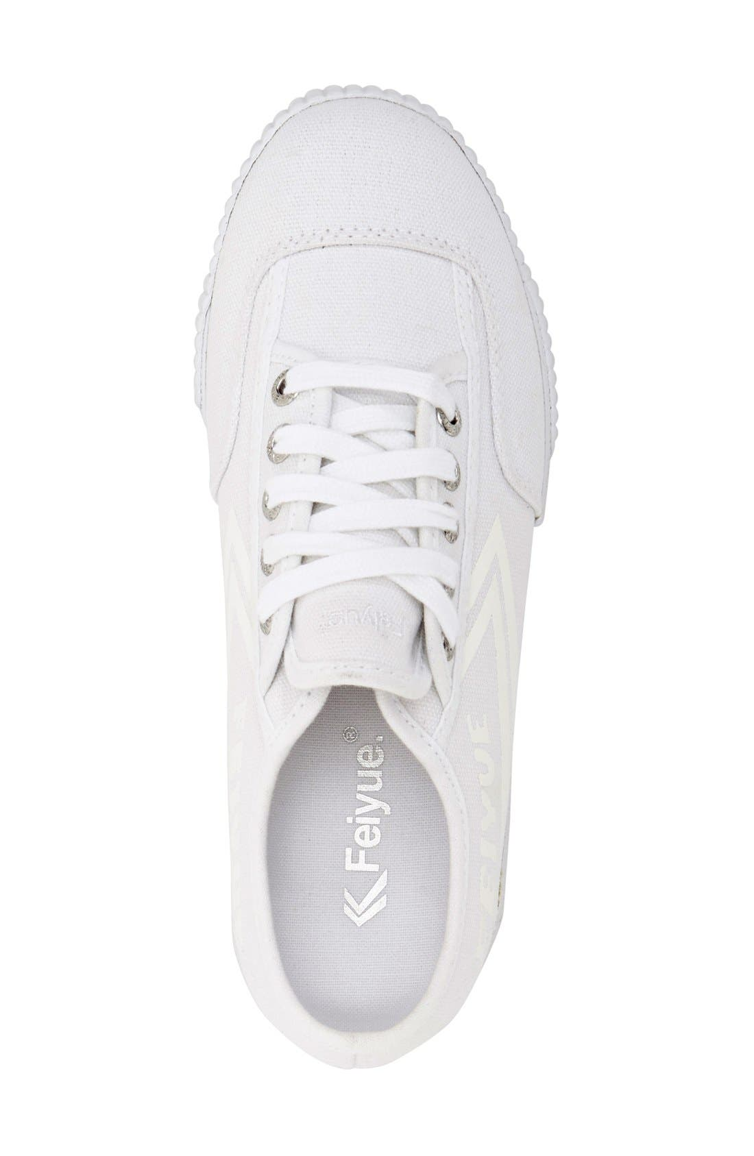 Alternate Image 3  - Feiyue. 'Fe Lo Plain' Canvas Sneaker (Women)