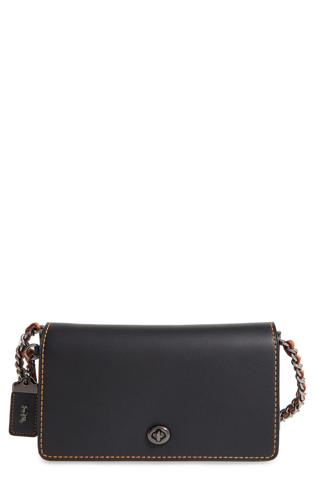 Main Image - COACH 1941 'Dinky' Leather Crossbody Bag