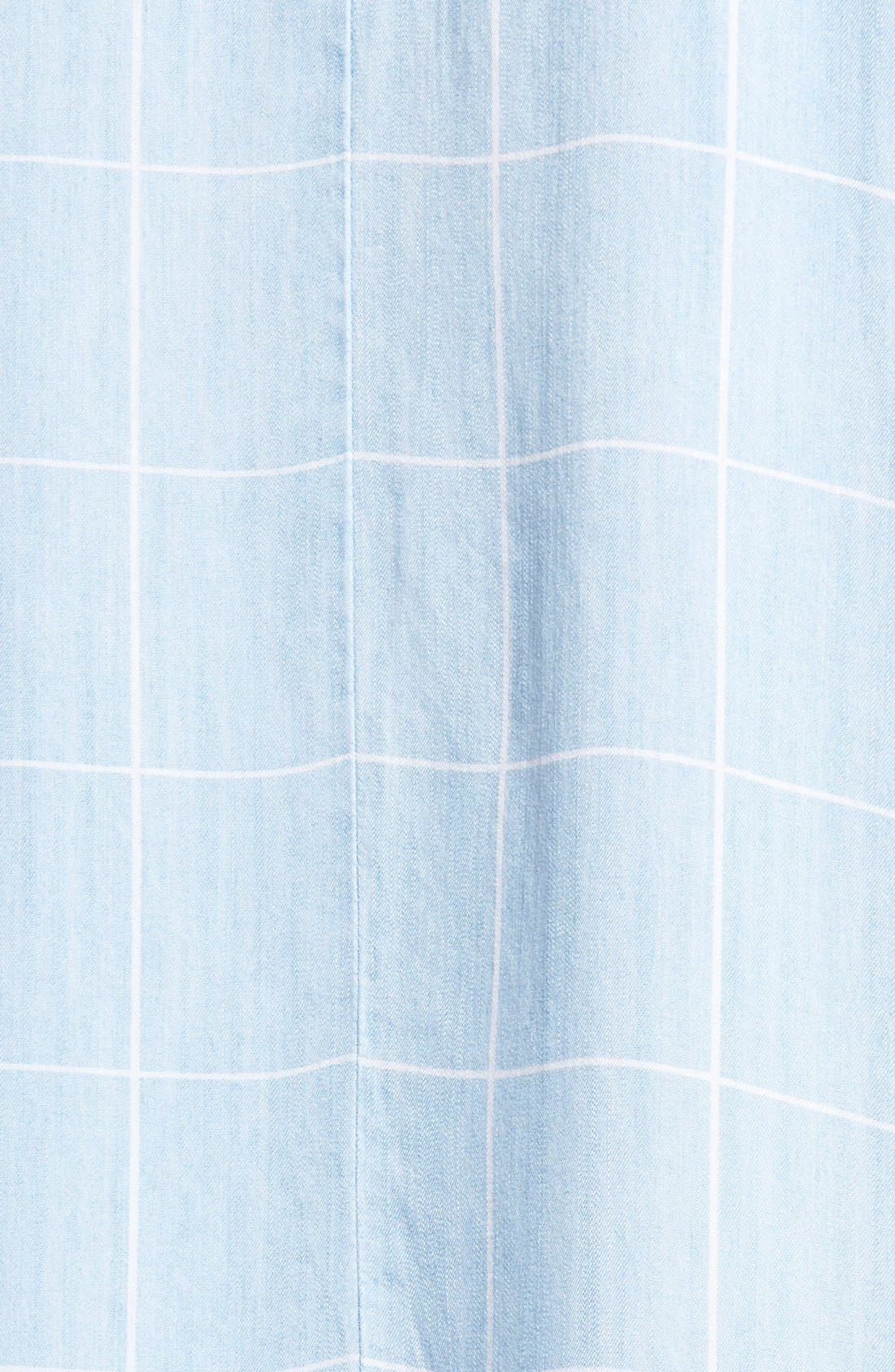 Alternate Image 5  - Rails 'Anya' Check Chambray Shift Dress