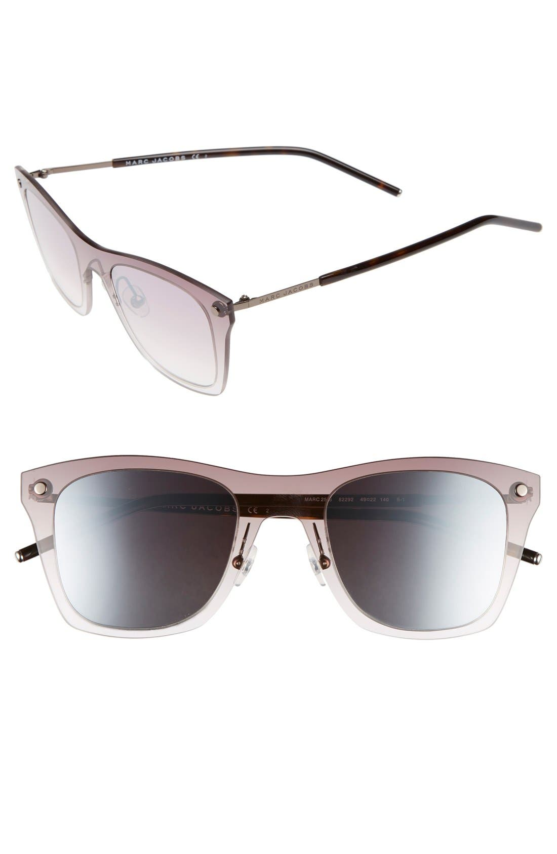 MARC JACOBS 49mm Retro Sunglasses