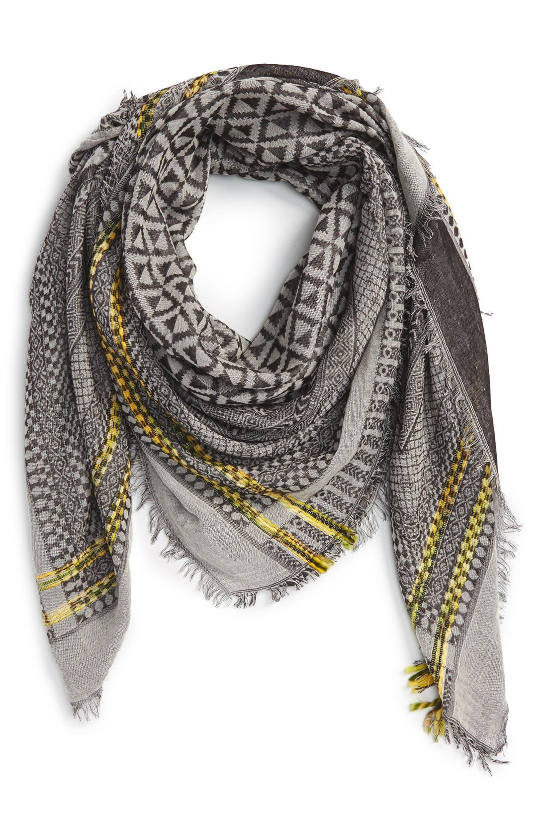 Alternate Image 1 Selected - Steve Madden Geo Print Scarf