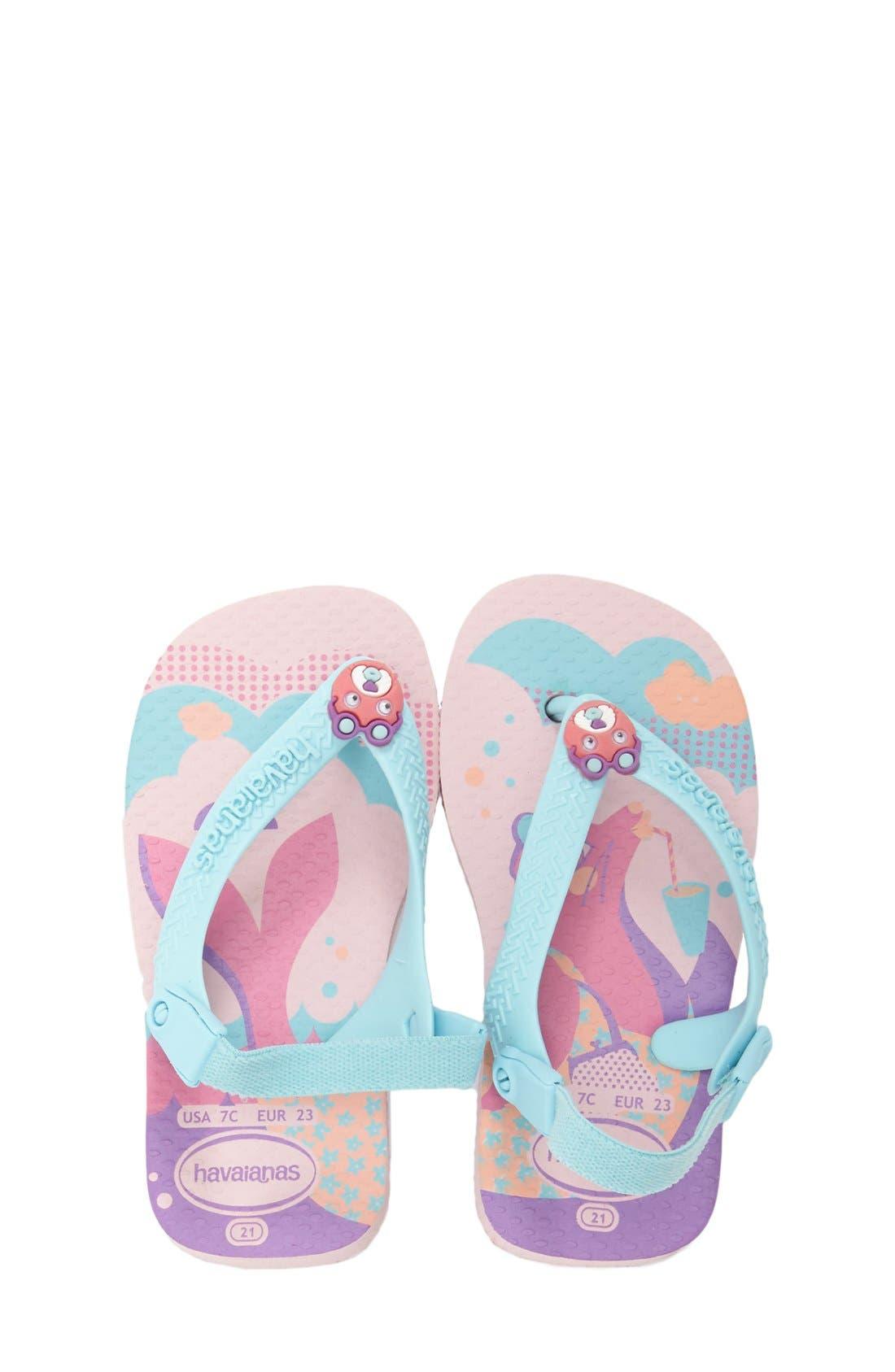 Alternate Image 1 Selected - Havaianas 'Baby Pets' Sandal (Baby, Walker & Toddler)