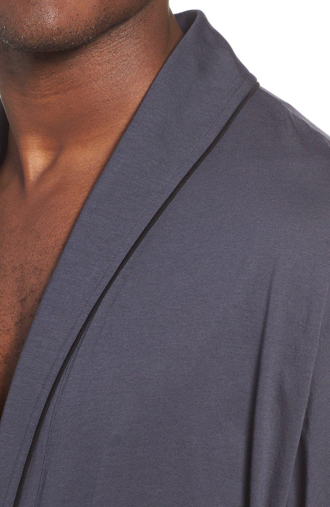 Alternate Image 4  - Daniel Buchler Peruvian Pima Cotton Robe