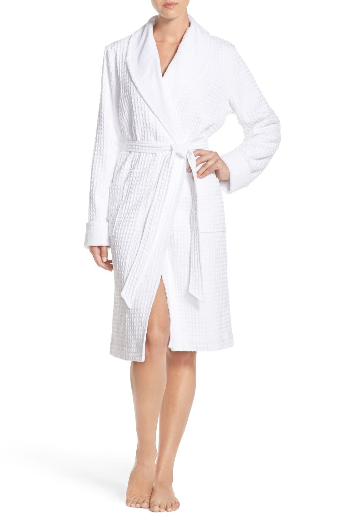 Alternate Image 1 Selected - Nordstrom Lingerie Terry Cotton Robe