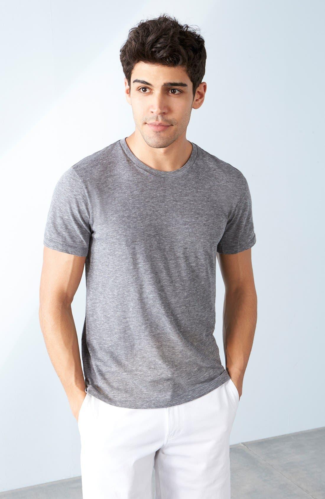 Alternate Image 7  - The Rail Slim Fit Crewneck T-Shirt